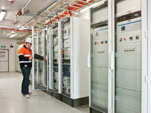 electrical switchroom