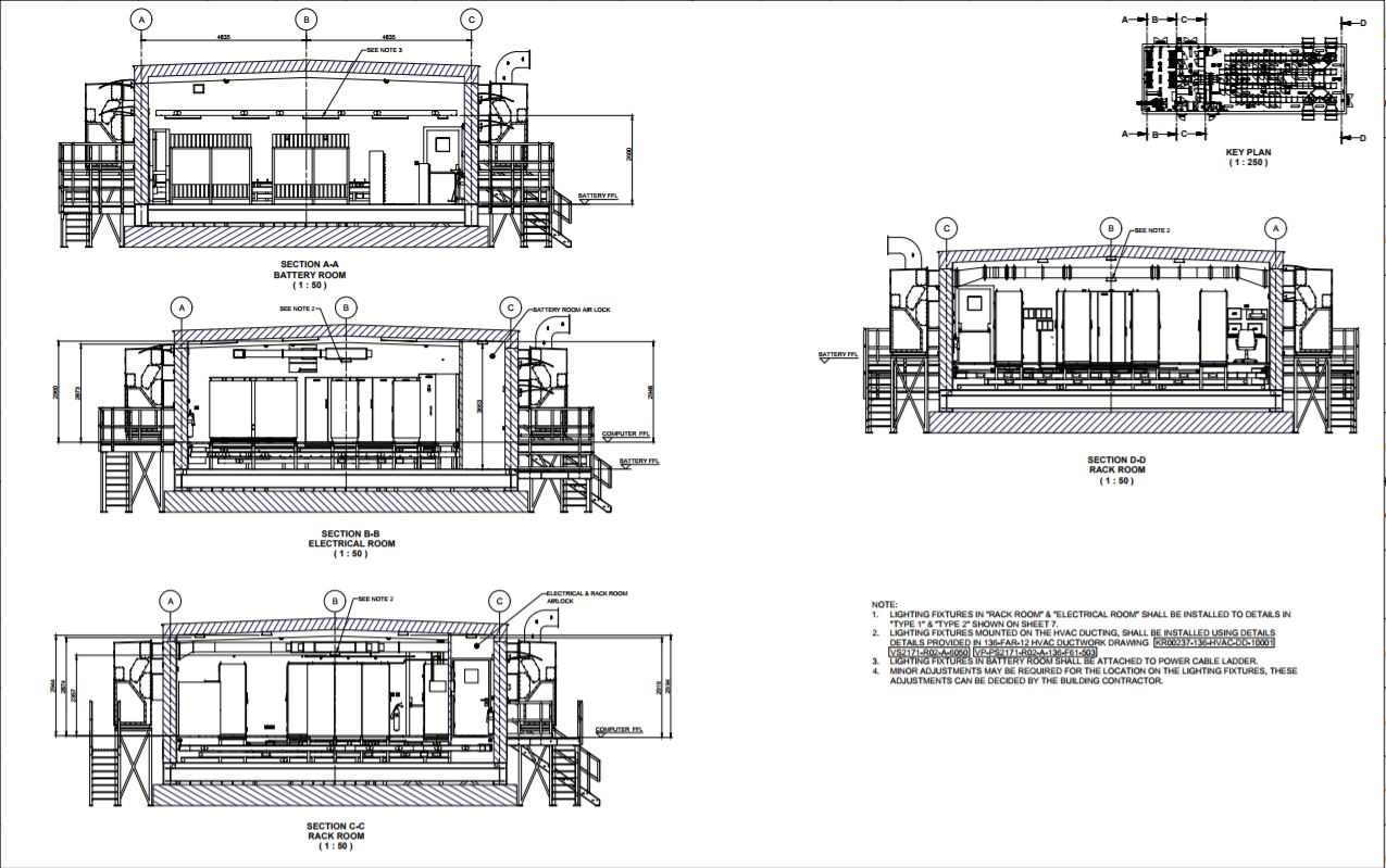 E House Drawing Eq Electrical Substation Plan B